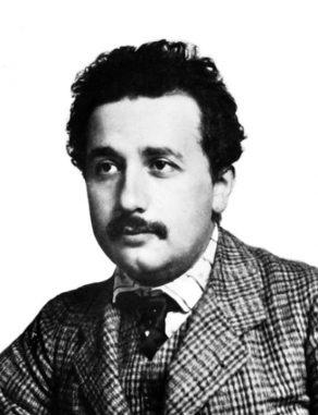 Albert Einstein im Jahre 1904, kurz vor Veröffentlichung seiner speziellen Relativitätstheorie. (Lucien Chavan)