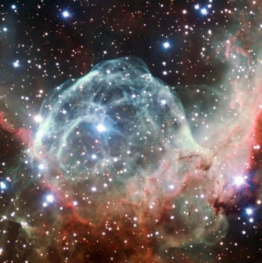 Thors Helm, aufgenommen vom Very Large Telescope der Europäischen Südsternwarte. (ESO / B. Bailleul)