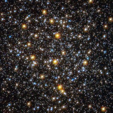 Der Kernbereich des Kugelsternhaufens NGC 6362, aufgenommen vom Weltraumteleskop Hubble. (ESA / Hubble & NASA)