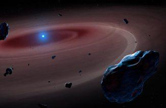 Illustration eines Weißen Zwergs. Die Ergebnisse des Experiments könnten auch unser Wissen über die Entwicklung dieser Himmelskörper verändern. (Graphic: Mark Garlick, space-art.co.uk University of Warwick)