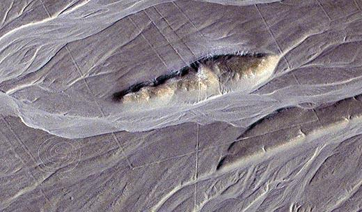 Einige der berühmten Nazca-Linien und Figuren. (Clive Ruggles)