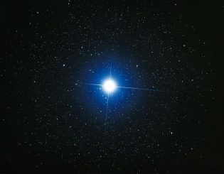 Sirius im Sternbild Canis Major, aufgenommen von dem japanischen Amateur-Astronomen Akira Fujii. (Akira Fujii)