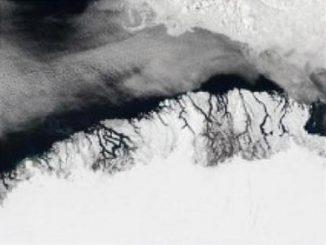 Ein Bild vom Südwesten Grönlands. (Jacques Descloitres, MODIS Land Rapid Response Team, courtesy of NASA Visible Earth)