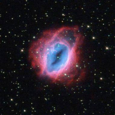 Der planetarische Nebel ESO 456-67, aufgenommen vom Weltraumteleskop Hubble. (ESA / Hubble & NASA / Acknowledgement: Jean-Christophe Lambry)