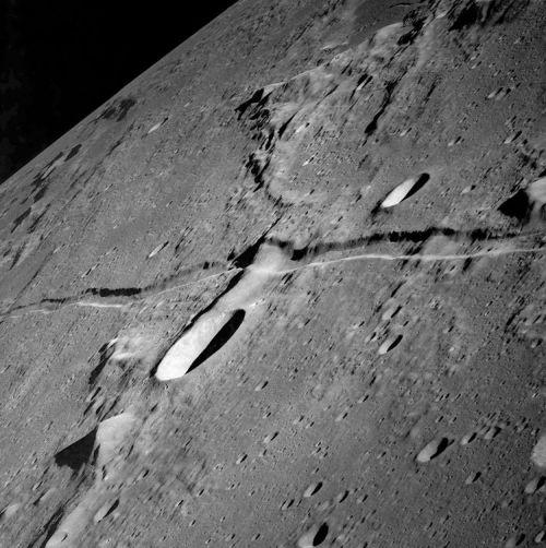 Rima Ariadaeus (Courtesy of NASA / Apollo 15)