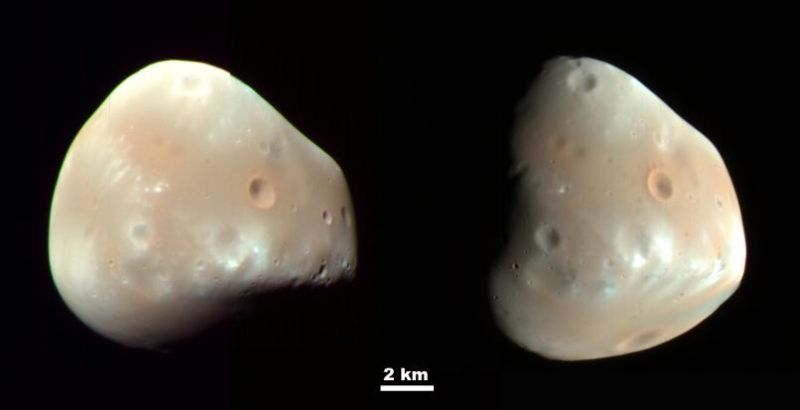Deimos (Courtesy of NASA / JPL-Caltech / University of Arizona)