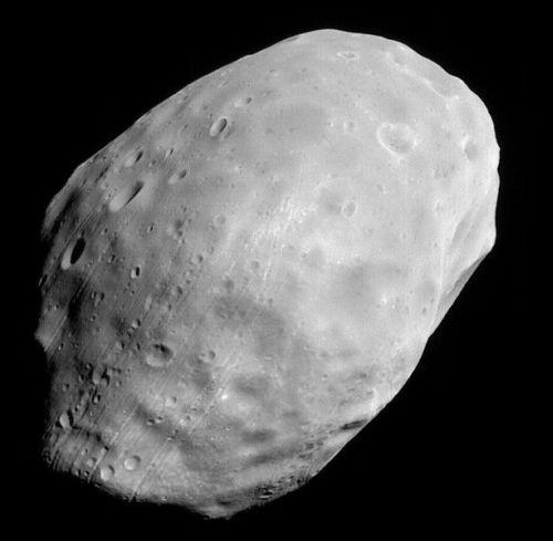 Phobos (Courtesy of NASA / JPL / MSSS)