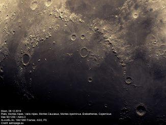 Mond vom 8.12.2016. (astropage.eu)
