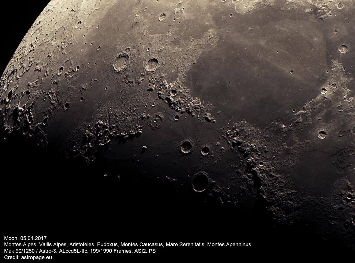 Mond vom 5.1.2017. (astropage.eu)