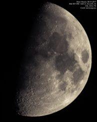 Mond Mosaik vom 7.1.2017. (astropage.eu)