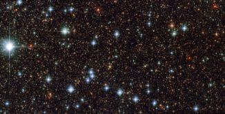 Ein Ausschnitt des Sternbildes Sagittarius, aufgenommen vom Weltraumteleskop Hubble. (Credit: ESA / Hubble & NASA)