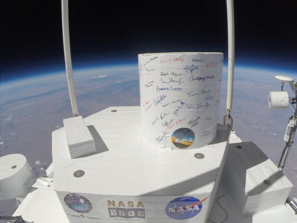 NASA untersucht kosmische Strahlung in der Stratosphäre   astropage.eu