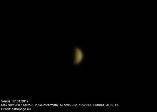 Venus vom 17.01.2017. (astropage.eu)