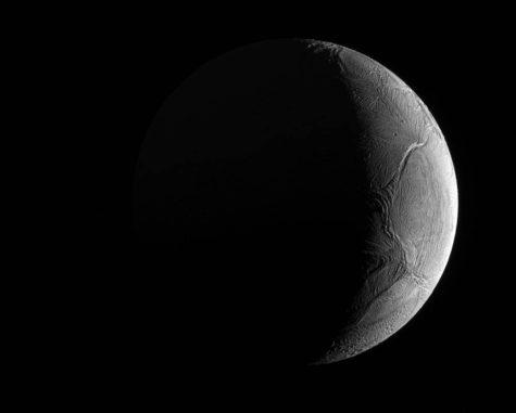 Enceladus, aufgenommen von der Raumsonde Cassini. (Credits: NASA / JPL-Caltech / Space Science Institute)