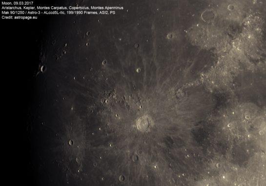 Mond vom 09.03.2017. (astropage.eu)