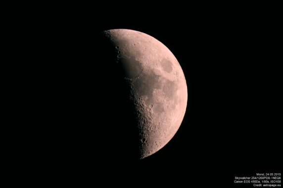 Mond vom 24.05.2015 (astropage.eu)