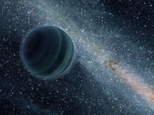 Künstlerische Darstellung eines freien, ungebundenen, planetenähnlichen Objekts. (NASA / JPL)