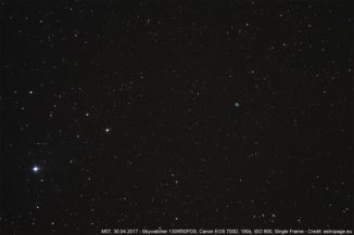 Der Ringnebel M57. (Credit: astropage.eu)
