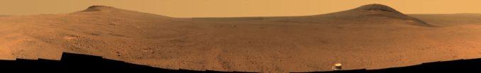 Panorama des Perseverance Valley. (Credits: NASA / JPL-Caltech / Cornell / Arizona State Univ.)
