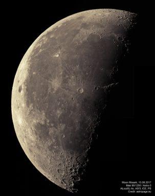 Mond-Mosaik, 15. August 2017 (Credit: astropage.eu)