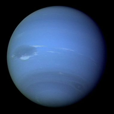 Der Eisriese Neptun. (Credit: NASA)