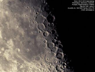 Mondaufnahme unter schlechten Bedingungen. (Credit: astropage.eu)