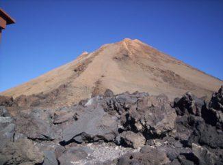 Der Gipfel des Vulkans Teide auf Teneriffa. (Credits: Image courtesy of National Oceanography Centre (NOC))