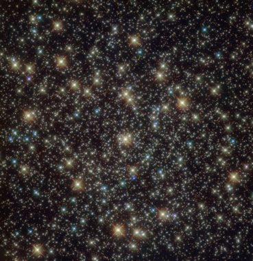 Hubble-Aufnahme des Kugelsternhaufens NGC 3201. (Credits: ESA / Hubble & NASA; Acknowledgement: Sarajedini et al.)