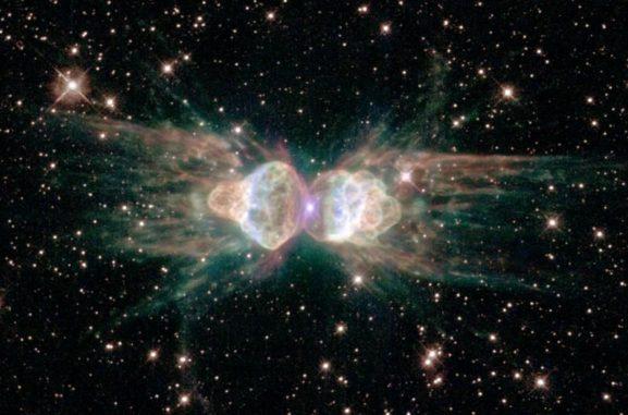 Der Ameisennebel (Menzel 3), aufgenommen vom Weltraumteleskop Hubble. (Credits: NASA, ESA and the Hubble Heritage Team (STScI / AURA))