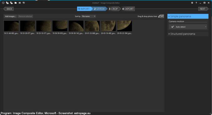 Image Composite Editor - Screenshot 3 (astropage.eu)