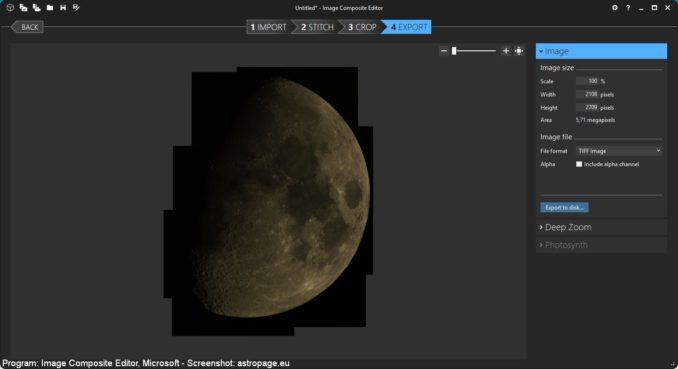 Image Composite Editor - Screenshot 6 (astropage.eu)