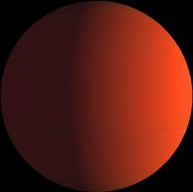 Künstlerische Darstellung des Exoplaneten K2-263b. (Credits: exoplanetkyoto.org)
