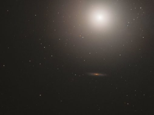 Messier 89, aufgenommen vom Weltraumteleskop Hubble. (Credits: ESA / Hubble & NASA, S. Faber et al.)