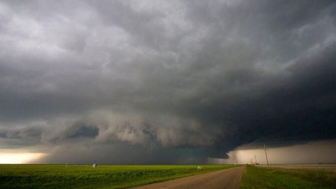 Eine Gewitterwolke über dem Mittleren Westen der USA. (Credits: UCAR)