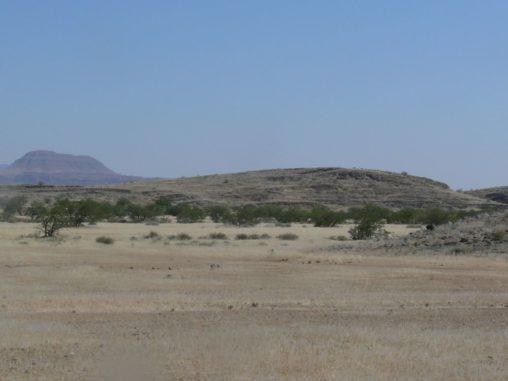 Drumlins in der Wüste Namibias. (Credits: West Virginia University)