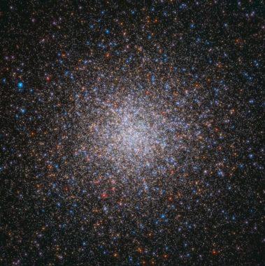 Hubble-Aufnahme des Kugelsternhaufens Messier 3. (Credits: ESA / Hubble & NASA, G. Piotto et al.)