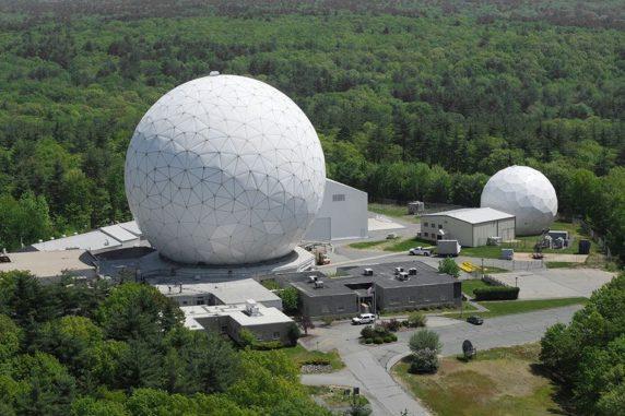 Das Haystack Observatory war maßgeblich an dem Vorhaben beteiligt. (Credit: courtesy of MIT Haystack Observatory)