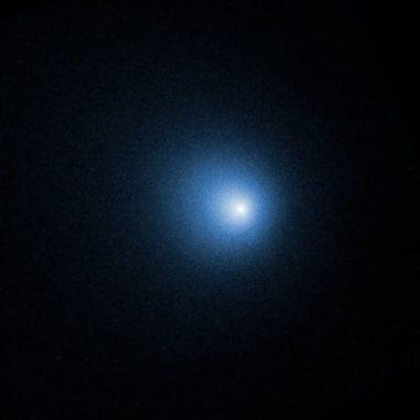 Der Komet 46/P Wirtanen, aufgenommen vom Weltraumteleskop Hubble. (Credits: NASA, ESA, and D. Bodewits (Auburn University) and J.-Y. Li (Planetary Science Institute))