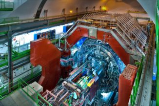 Das ALICE-Experiment am Large Hadron Collider (LHC). (Credit: CERN)