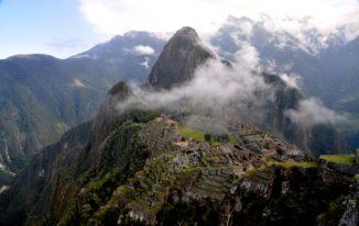 Die Inka-Ruinenstadt Machu Picchu in den Anden. (Credits: Rualdo Menegat)