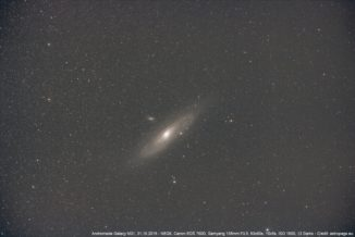 Die Andromeda-Galaxie M31. (Credits: astropage.eu)
