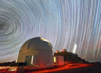 Das in Chile stehende Teleskop des Korea Microlensing Telescope Network (KMTNet). (Credits: Young Beom Jeon)