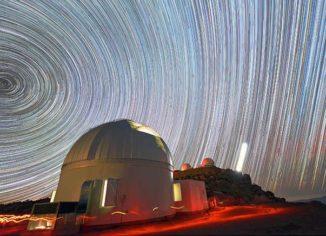 Das in Chile stehende Teleskop des Korea Microlensing Telescope Network (KMTNet). (Credits: Young Beom Jeon)
