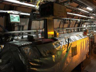 LHCf Arm2, einer der beiden Detektoren des LHCf-Experiments. (Credits: Image: Lorenzo Bonechi)