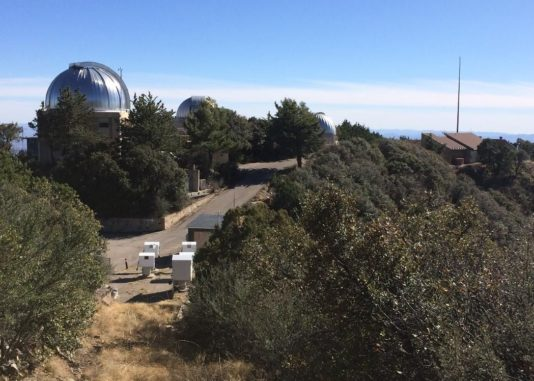 Das Fred L. Whipple Observatory. (Credits: SAO / TRES)