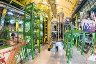 Das LHCb-Experiment am CERN. (Credits: Image: CERN)