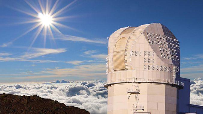 Das Daniel K. Inouye Solar Telescope. (Credits: National Science Foundation)