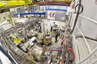 Das ALPHA-Experiment in der Halle des Antiproton Decelerator am CERN. (Credit: Image: CERN)