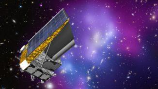 Künstlerische Darstellung des Weltraumteleskops Euclid. (Credits: ESA / C. Carreau / CC BY-SA 3.0 IGO)