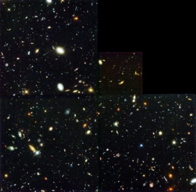 Das Hubble-Deepfield zeigt zahlreiche Galaxien. (Credits: Robert Williams (NASA, ESA, STScI))